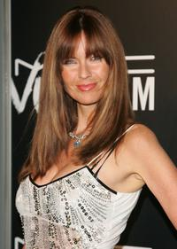 Carol Alt at the M.A.C. Viva Glam VI dinner to benefit Aids research.