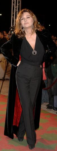 Caroline Cellier at the Marrakesh International Film Festival 2005.