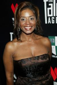 Donzaleigh Abernathy at the birthday party and launch of the new television show