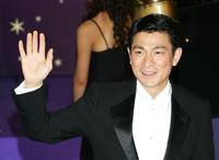 Andy Lau at the 25th Hong Kong Film Award.