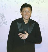 Andy Lau at the 24th Annual Hong Kong Film Awards.