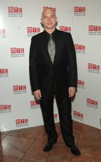 Michael Cerveris at the Manhattan Theatre Club Spring Gala.