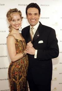 Elizabeth Loyacano and Anthony Crivello at the after party following the opening night performance of