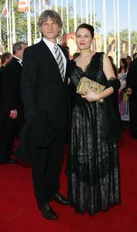 Martin Langer and Barbara Auer at the German Film Awards.