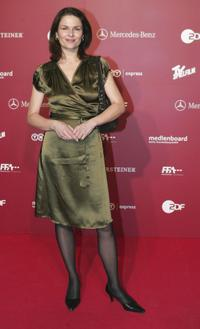 Barbara Auer at the photocall for the German Film Awards.