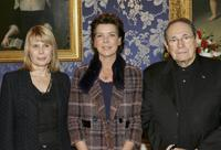 Candice Patou, Princess Caroline of Hanover and Robert Hossein at the Cultural Merit Order in occasion of Monaco National Day.
