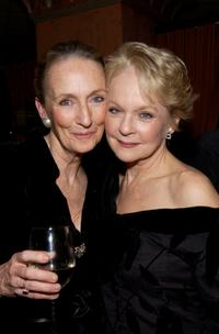 Kathleen Chalfant and Penny Fuller at the after party of