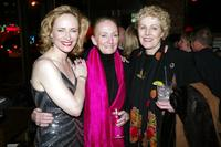 Laila Robins, Kathleen Chalfant and Lynn Redgrave at the after party of the opening night of