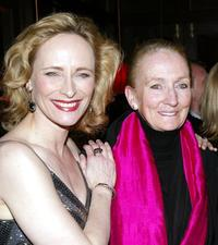 Laila Robins and Kathleen Chalfant at the after party of the opening night of
