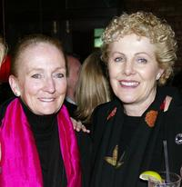 Kathleen Chalfant and Lynn Redgrave at the after party of the opening night of