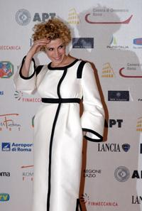 Cecilia Dazzi at the third day of Roma Fiction Fest 2008.