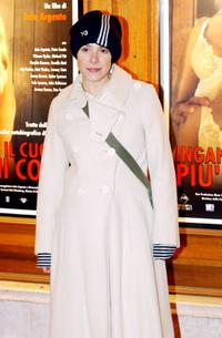 Cecilia Dazzi at the premiere of