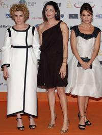 Cecilia Dazzi, Luisa Ranieri and Elena Sofia Ricci at the Roma Fiction Fest 2008.