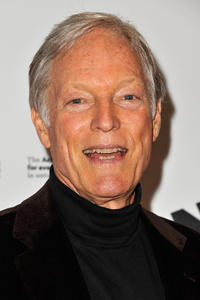 Richard Chamberlain at the Broadway opening night of