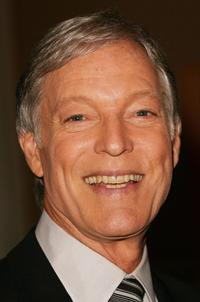 Richard Chamberlain at the Hallmark Channel attends the Television Critics Association Winter Press Tour panel discussion.