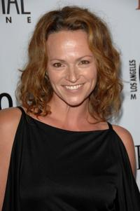 Clare Carey at the Los Angeles Confidential Magazine's Pre-emmy party.