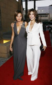 Valeria Golino and Jo Champa at the 4th Annual Cinema Italian Style Festival Los Angeles and 2007 Cinema Italian Style Awards.