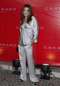 Jo Champa at the celebration for the opening of Garrard flagship store.