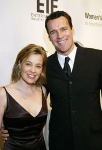 Nancy Chambers and David James Elliott at the Saks Fifth Avenue's Unforgettable Evening.