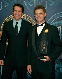 David James Elliott and John Stokes at the 21st Annual American Society of Cinematographers Achievement Awards.