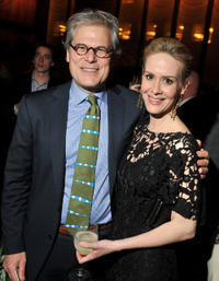Bruce Altman and Sarah Paulson at the New York premiere of