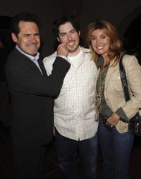 Dennis Miller, Director Jason Reitman and Ali at the premiere of