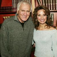 Dick Latessa and Susan Lucci at the ABC Daytime celebrating