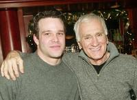 Nathaniel Marston and Dick Latessa at the ABC Daytime celebrating