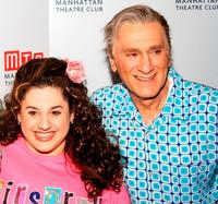 Marrisa Jaret Winokur and Dick Latessa at the Manhattan Theater Club Spring Gala.
