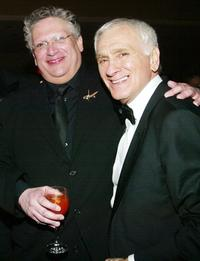 Harvey Fierstein and Dick Latessa at the Dinner and after party of 2003 Tony Awards.