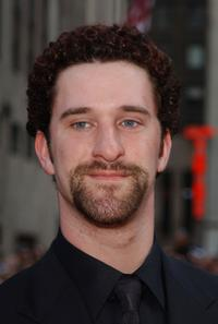 Dustin Diamond at the NBC 75th Anniversary celebration.