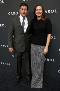 Kyle Chandler and Kathryn Chandler at the New York premiere of