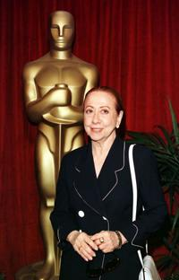 Fernanda Montenegro at the Annual Oscar nominees luncheon.