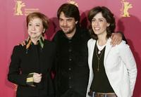 Fernanda Montenegro, Andruche Waddington and Fernanda Torres at the photocall of