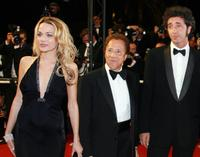 Laura Chiatti, Giacomo Rizzo and director Paolo Sorrentino at the premiere of