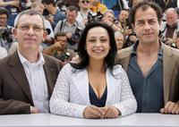 Gianfelice Imparato, Maria Nazionale and Director Matteo Garrone at the photocall of