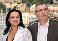 Maria Nazionale and Gianfelice Imparato at the photocall of