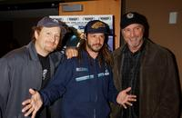 Director Stacy Peralta, Tony Alva and Jay Wilson at the New York premiere of
