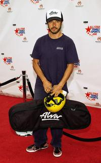 Tony Alva at the HBO All Star Family Sports Jam to benefit Children's Hospital.