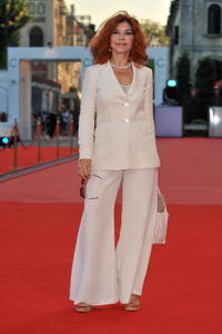 Ida Di Benedetto at the premiere of