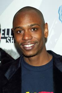 Dave Chappelle at the kick-off party for the second season of