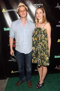 Josh Charles and Sophie Flack at the after party of the screening of