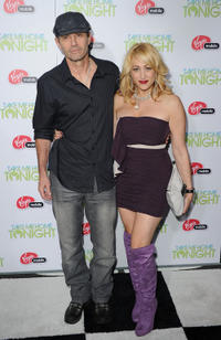 Michael Biehn and Jennifer Blanc at the California premiere of