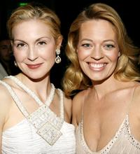 Kelly Rutherford and Jeri Ryan at the 8th Annual Costume Designers Guild Awards VIP reception.