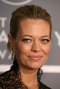 Jeri Ryan at the 49th Annual Grammy Awards.