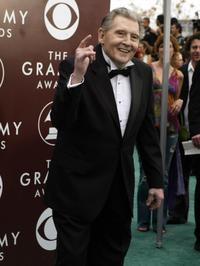 Jerry Lee Lewis at the 47th Annual Grammy Awards.