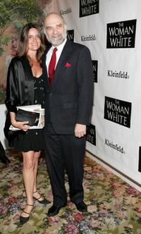 Walter Charles and Leslie Tompson at the opening night of Andrew Lloyd Webber's play