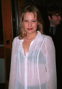 Joey Lauren Adams at the post-Golden Globe awards party.