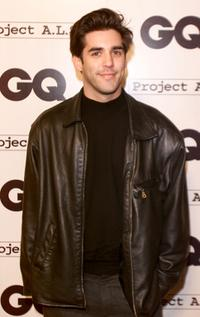 Jordan Bridges at the party to celebrate GQ Magazine's second annual