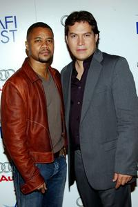 Cuba Gooding Jr. and Julio Cedillo at the screening of